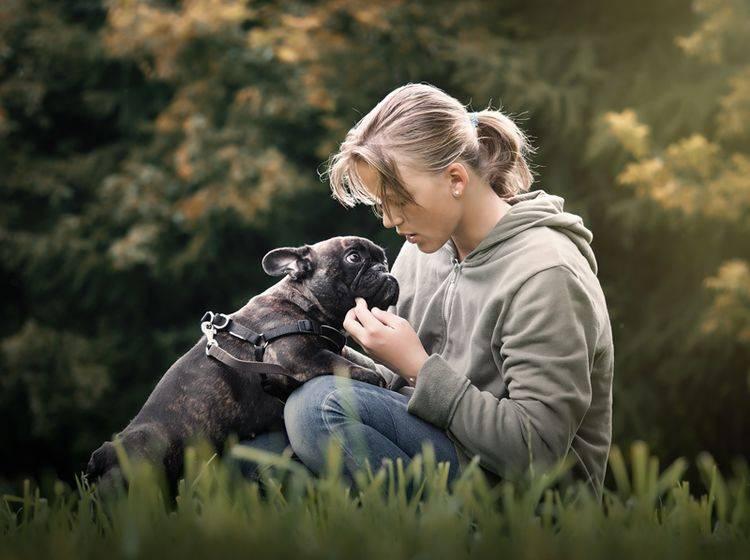 Eine Studie hat bewiesen: Hunde mögen Babysprache - Bild: Shutterstock / Irina Kozorog