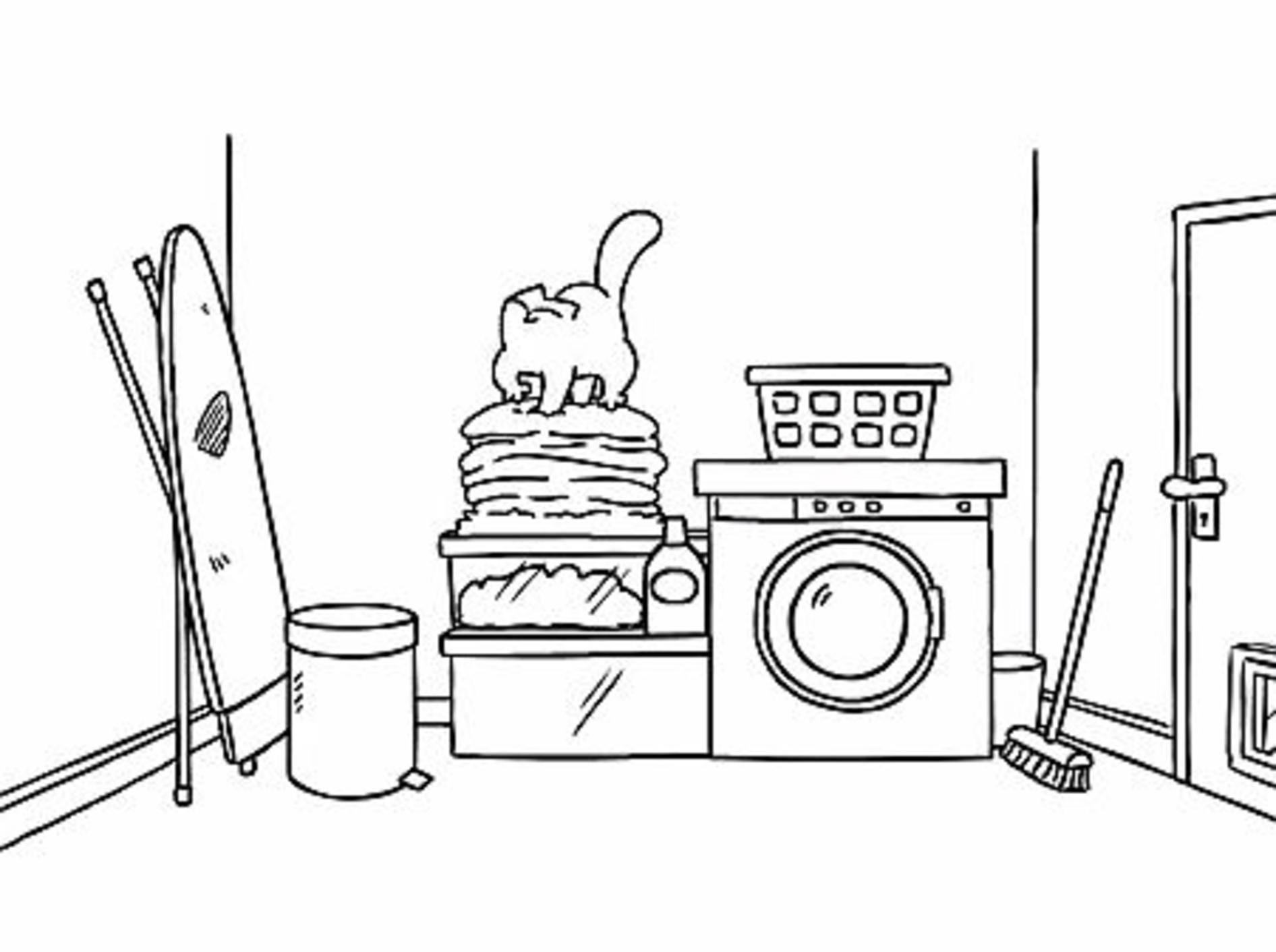 Simon's Cat: Besuch in der Waschküche – Bild: Youtube / Simon's Cat