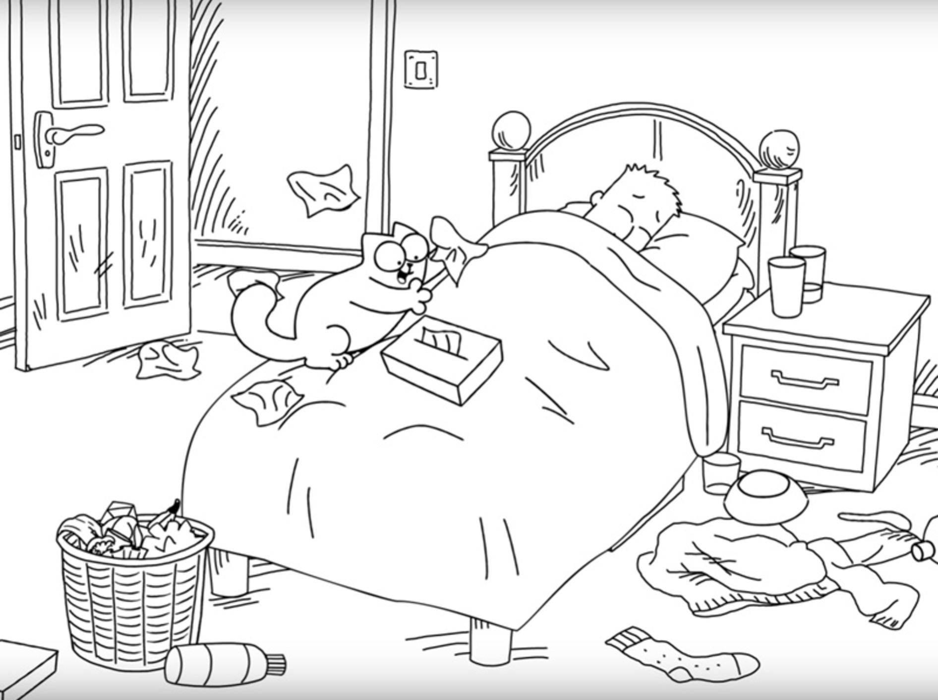 Simons-Cat-als-flauschiger-Krankenpfleger